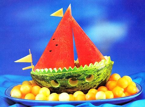 Velero de frutas
