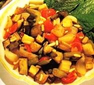 Verduras en agridulce