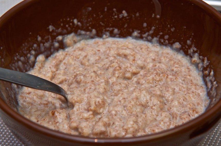 Yogur con cereales