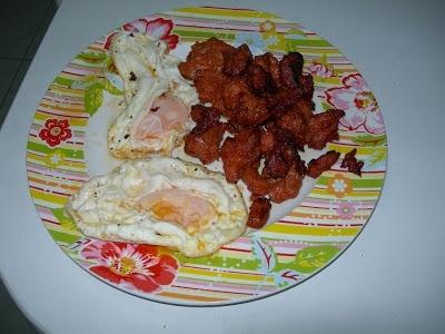 Zorza con huevos