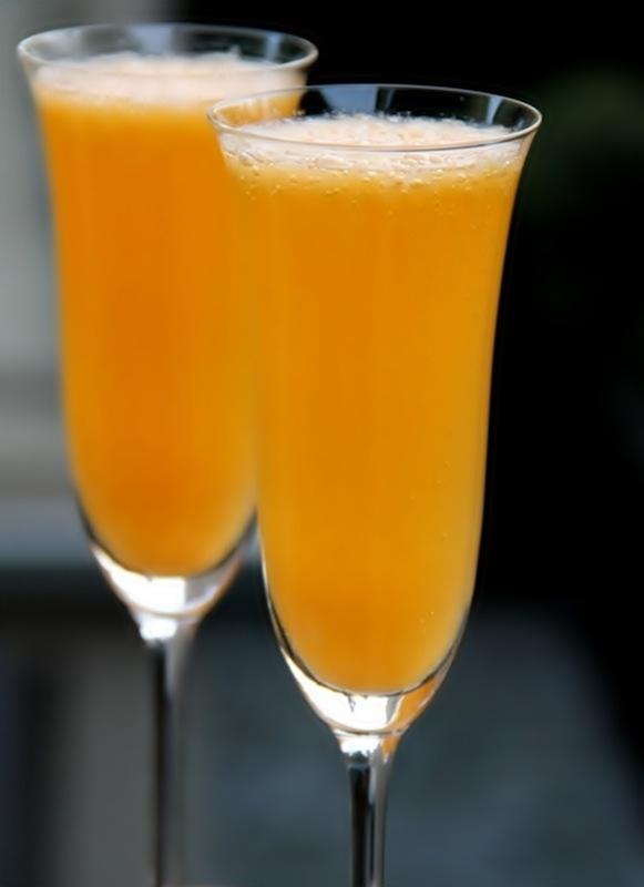 Zumo de mandarina con Cointreau