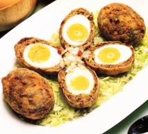 Receta de Albóndigas de huevos duros