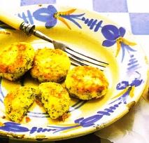 Albóndigas de patata y queso