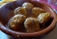 Receta de Albóndigas en salsa menorquina
