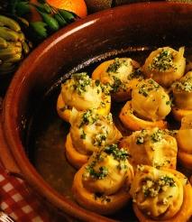 Alcachofas a la naranja