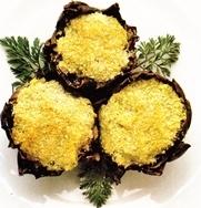 Alcachofas con queso
