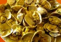 Almejas de Cantabria a la marinera