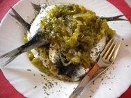 Receta de Anchoas con cebolla