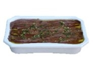 Anchoas enlatadas a la vinagreta