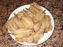 Anchoas rebozadas