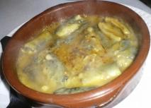 Anguila en salsa