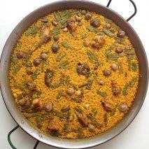 Receta de Arroz con caracoles al estilo albaceteño