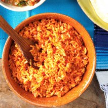 Arroz con tomate en Thermomix