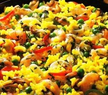 Arroz marinero de marisco