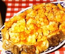 Bacalao con coliflor al estilo gallego