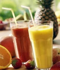 Batido de frutas