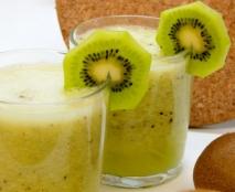 Batido de kiwi y manzana