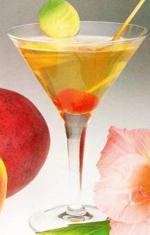 Batido de manzana y mango