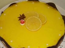 Bavaroise de limón en Thermomix