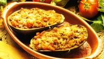 Berenjenas rellenas de hortalizas