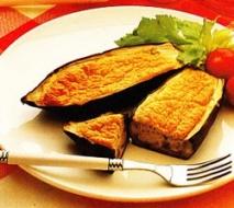 Receta de Berenjenas soufflés al queso