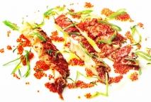 Bogavante asado con hierbas aromáticas