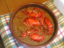 Receta de Bogavante con arroz