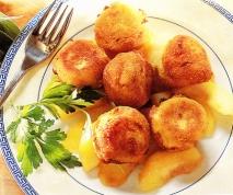 Bolitas de Roquefort con membrillo