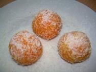 Bolitas de zanahoria