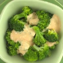Receta de Brócoli con salsa de mejillones