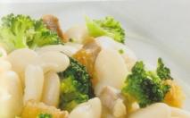 Brócoli con judías blancas