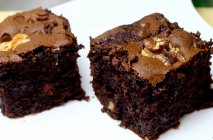 Brownie de chocolate con nueces ecológico