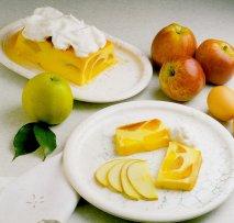 Receta de Budín de manzana