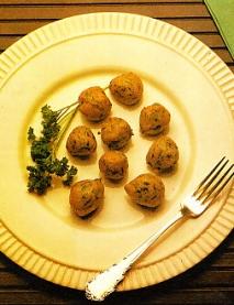 Buñuelos de espinacas
