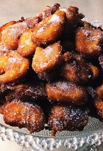 Buñuelos de manzana reineta
