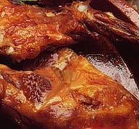Cabrito al horno en salsa
