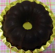 Cake de chocolate al microondas