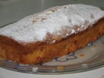Cake de ciruelas pasas