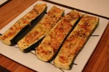 Receta de Calabacines  con queso
