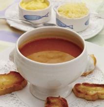 Sopa de pescado ligero