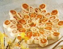 Canapés de sobrasada y queso