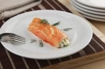 Receta de Canelón de salmón
