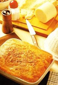 Canelones tres quesos