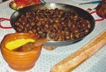 Caracoles con alioli