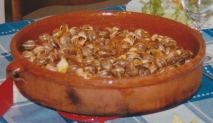 Caracoles picantes