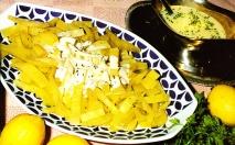 Receta de Cardo riojano en salsa blanca