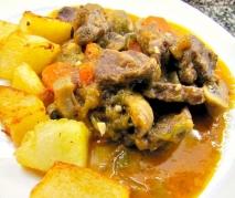 Carne gobernada al estilo de Oviedo