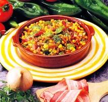 Receta de Cazuela de maíz y bacon