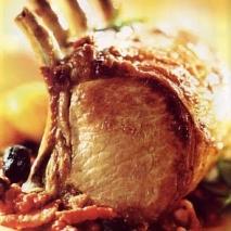 Cerdo con piña