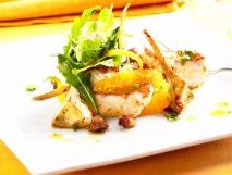 Receta de Cebiche de cabracho, alcachofas y cítricos